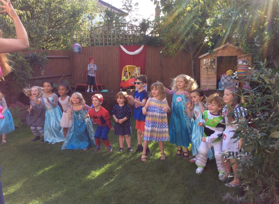 Footlights Theatre Workshop children's party