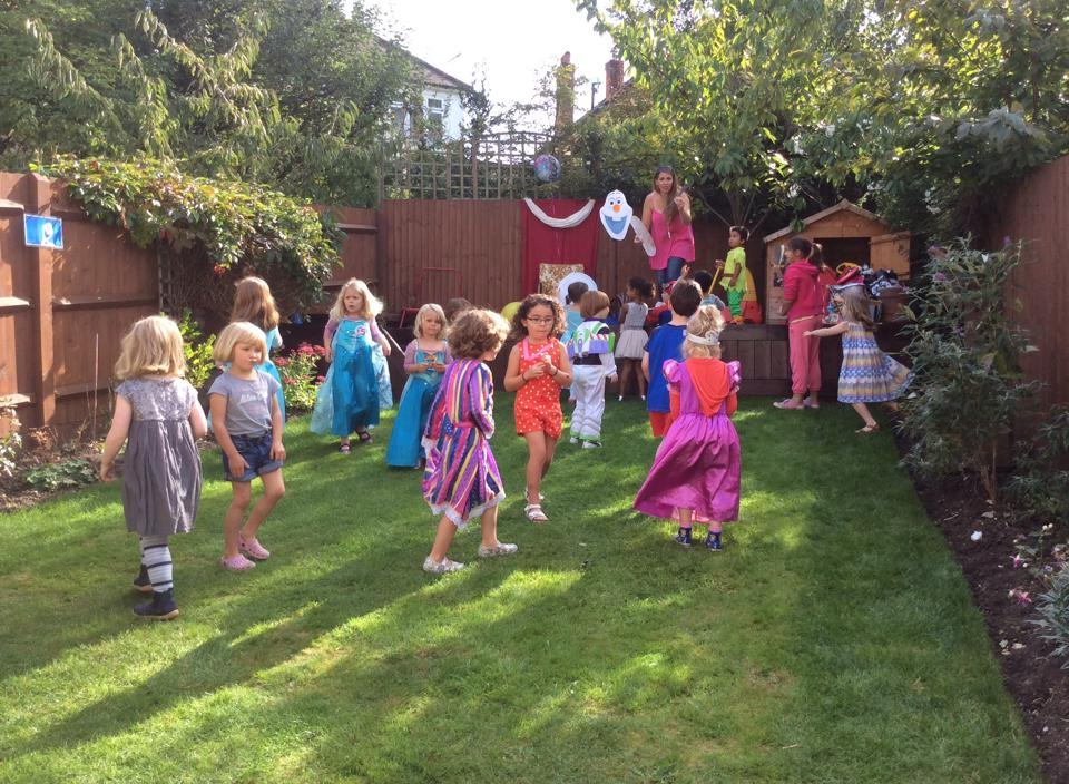 Footlights Theatre Workshop children's party