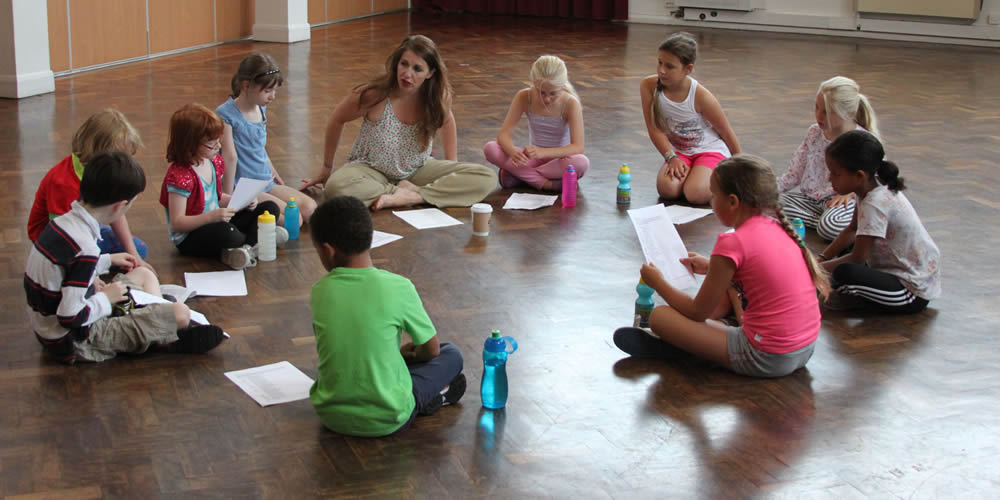 Footlights Theatre Workshop class